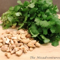 Coriander and cashew dip recipe