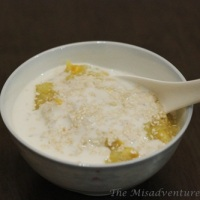 Sweet corn and sticky rice pudding (chè bắp) recipe